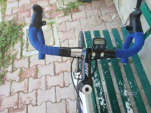 Bici corsa in alluminio tg 55