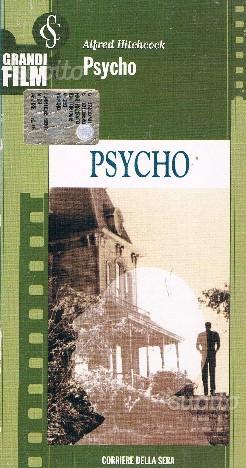 VHS di Psycho di Alfred Hitchcock