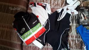 Abbigliamento ciclismo nuovo e usato tg.S/M