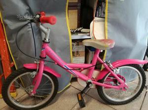 Bicicletta bambina 4/5 anni