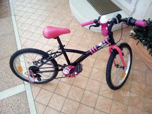 Bicicletta bambina 6/10 anni 20 pollici