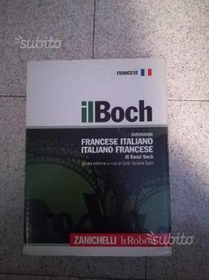 """Dizionario di francese """"Il Boch"""" - Zanichelli"""