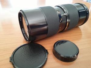 Obiettivo zoom ottico  mm