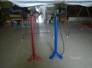 Pompe per bici vari colori nuove