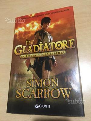 """Privo volume di """"Il gladiatore"""" di Scarrow"""