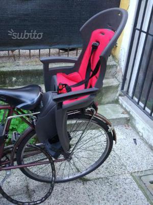 Seggiolino posteriore bici