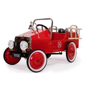 Auto A Pedali Camion Dei Pompieri Vintage Per Bambini