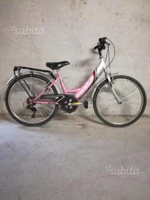 """Bicicletta bambina 24"""" Maver 6 rapporti"""