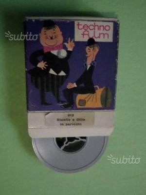 Film filmino super 8 mm TECHNOfilm 912 Stanlio e O