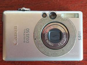 Fotocamera canon ixus 50