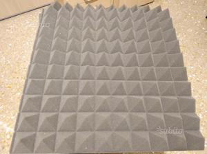 Pannelli fonoassorbenti piramidali anti rumore