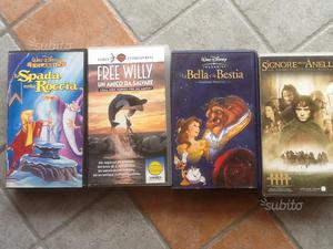 Video cassette originali WALT DISNEY