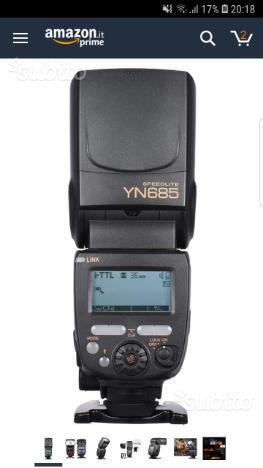 Yongnuo 685 I-TTL per Nikon