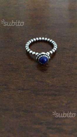 sito affidabile 9a6d7 88ea9 Anello pandora originale con pietra blu | Posot Class