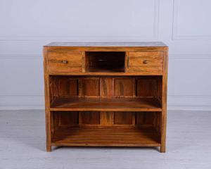 Credenza Con Sopralzo : Credenza mobiletto da bar in legno massello posot class
