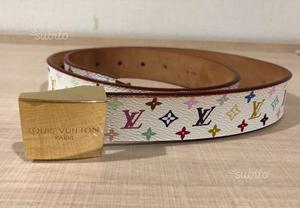scarpe sportive 2c711 f75fa Cintura louis vuitton monogram multicolor | Posot Class