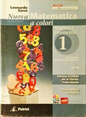 Nuova Matematica a colori 1 ISBN C
