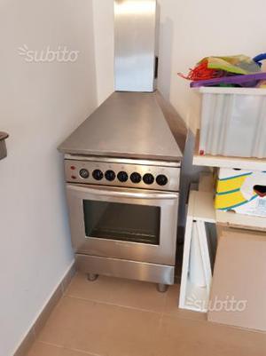 TECNOGAS- Cucina a Gas 4 Zone Cottura con Forno