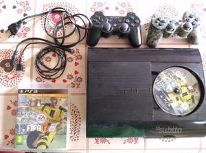 PS3 + controller + cavo alimentazione + Fifa 17