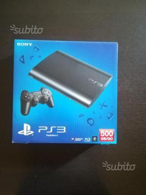 Ps3 Ultra Slim 500gb con 3 giochi e controller