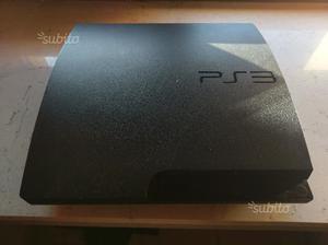 Ps3 slim + 14 giochi + 2 controller pad