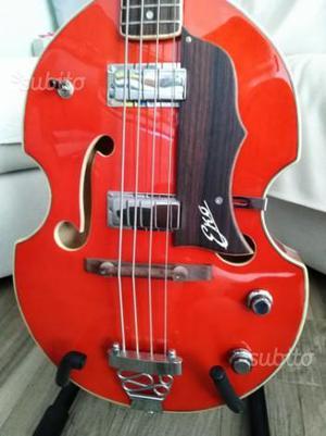 Eko violin bass vintage walnut - basso elettrico