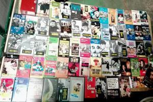 Enorme lotto di vhs videocassette vintage original