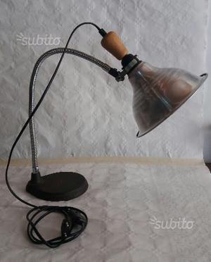 Lampada legno di mare posot class - Lampada da tavolo vintage ...