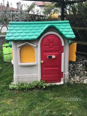 Casetta bambini chicco lecco posot class for Casetta giardino bambini usata