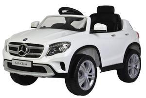 Macchina Elettrica Per Bambini 12v Mercedes Gla Class Bianca