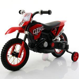 Moto Elettrica Per Bambini 6v Babyfun Rossa