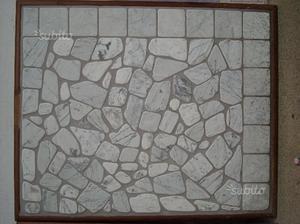Palladiana in marmo di carrara