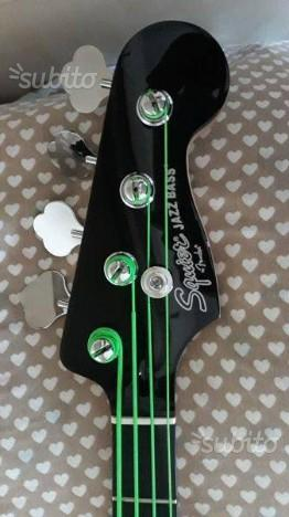 Fender squier jazz bass attivo 4 corde