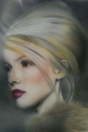 dipinti ad olio ed aerografie