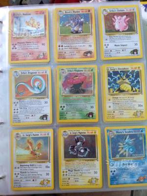 Carte Pokemon set Gym Heroes
