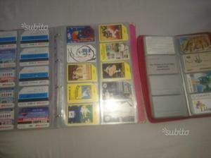 Grande collezione di schede telefoniche