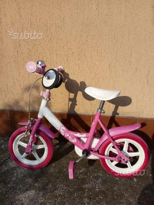 Bicicletta bambina con rotelle
