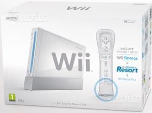 Nintendo Wii con giochi