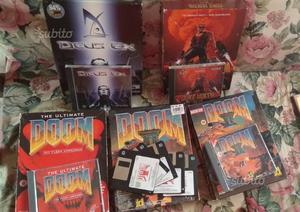 Rarità: DooM II, Deus Ex e Duke Nukem 3d cartonati