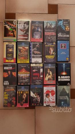 Vhs videocassette film
