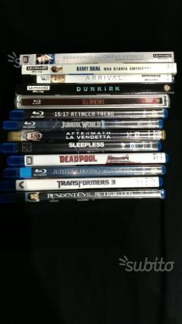Blu Ray e 4K