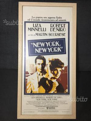 Locandina cinema NEW YORK NEW YORK originale