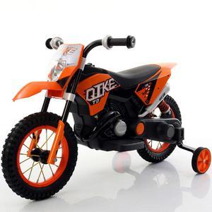 Moto Elettrica Per Bambini 6v Babyfun Arancione