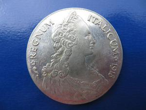 RIPRODUZIONE Tallero Italicum  Vittorio Emanuele III