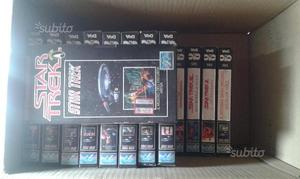 Star Trek materiale in VHS originale Vintage