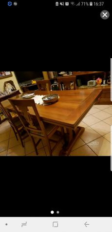 Assi in legno noce nazionale posot class - Tavolo in noce nazionale ...