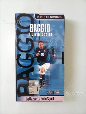 VHS ROBEROTO BAGGIO Gazzetta dello Sport