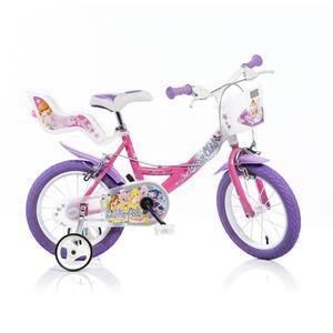 Bicicletta Winx Per Bambina 14Â? 2 Freni 144r-wx7