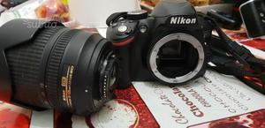 Nikon d + obiettivo vr dx