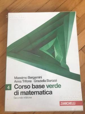 Corso base di matematica verde volume 4